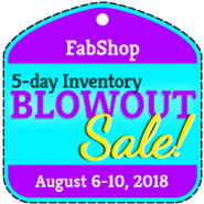 BlowOut Sale Registration - AUGUST 2018