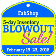 BlowOut Sale Registration - FEBRUARY 2018