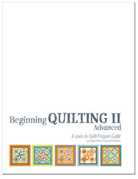 Beginning Quilting II Advanced