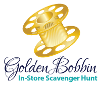 Golden Bobbin, In-Store Scavenger Hunt