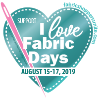 I Love Fabric Days  - Registration