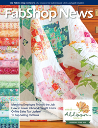 Advertisers 6x - Advertisers - FabShop News April 2019 Issue 129