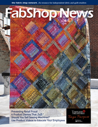 Advertisers 3x - FabShop News June 2019 Issue 130