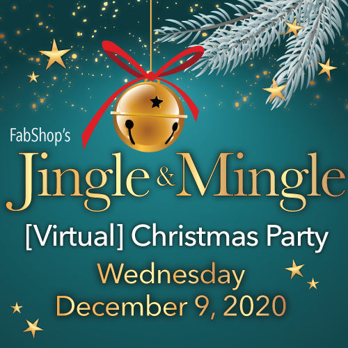 Jingle & Mingle…FabShop's [Virtual] Christmas Party!