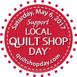 Local Quilt Shop Day Custom Registration