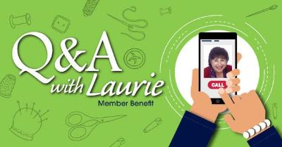 Q&A with Laurie 2019 (Member Benefit)