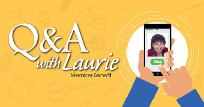 Q&A with Laurie 2018 (Member Benefit)