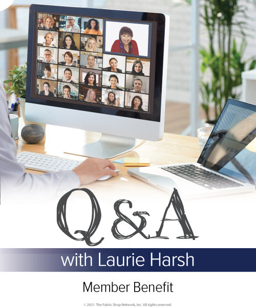 Q&A with Laurie 2021 (Member Benefit)