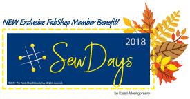 Sew Days Fall 2018