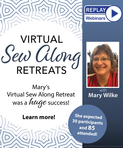 [Replay] Virtual Sew Along Retreats