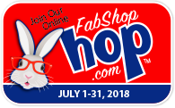 FabShop Hop July 2018