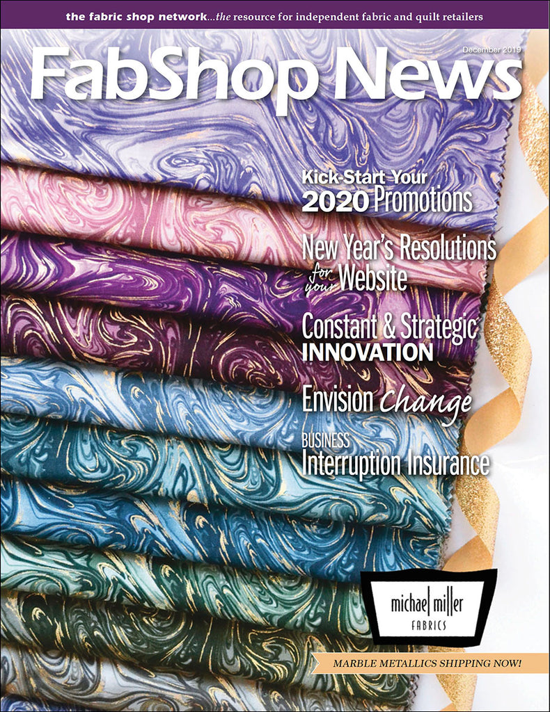 Advertisers - FabShop News December 2019 Issue 133