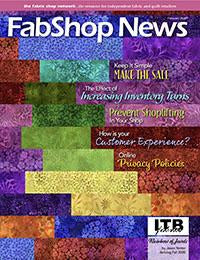 Advertisers 3x - FabShop News February 2030 Issue 134