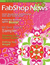 FabShop News – December 2012, Issue 91