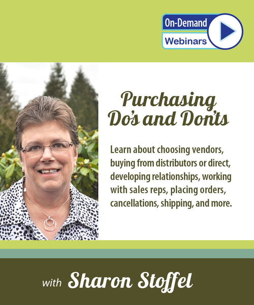 Purchasing Do's and Don'ts with Sharon Stoffel