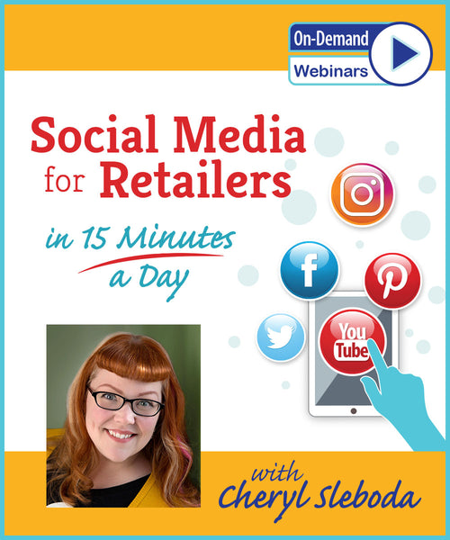 Social Media for Retailers in 15 Minutes a Day!