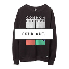 COMMON CULTURE UNISEX CREWNECK