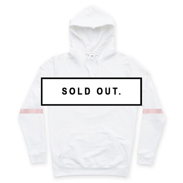 COMMON CULTURE WHITE PULLOVER HOODIE