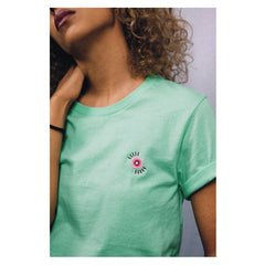 COMMON CULTURE MINT EYEBALL TEE