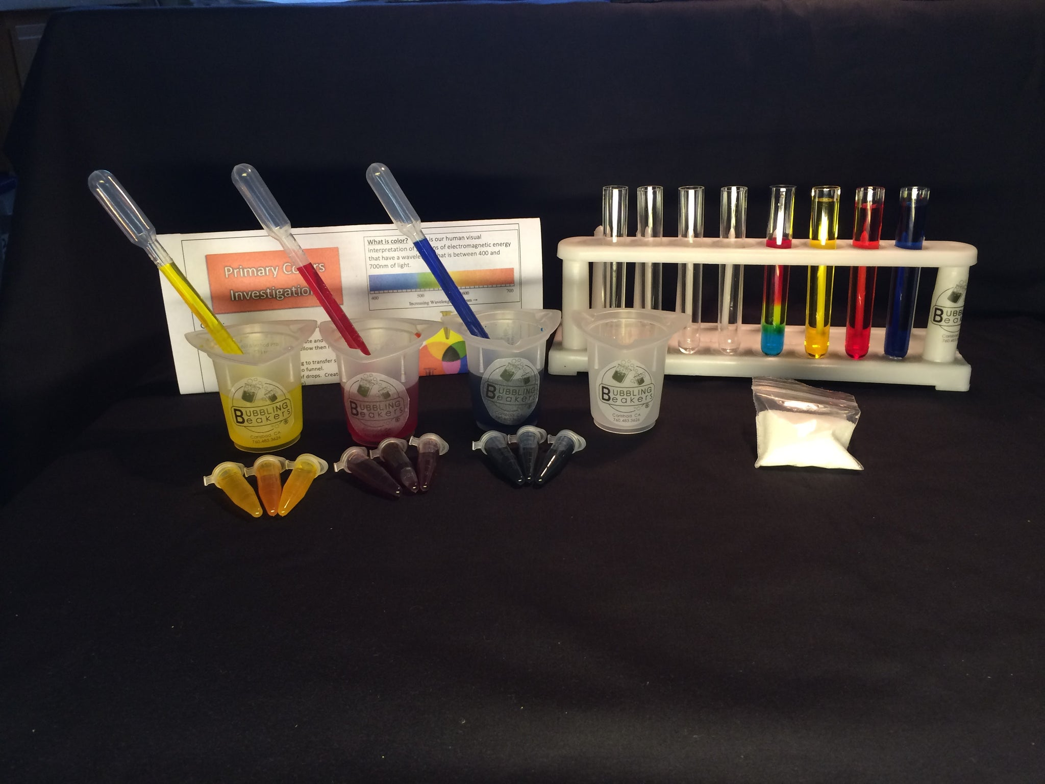 Our Test Tube Kits!