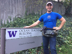 Walking the University of Washington Oceanography Campus