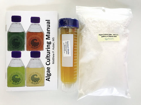 Spirulina nutrient and salt media kit for Arithrospira platensis