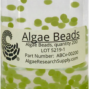 Algae Research Supply:  Algae Beads