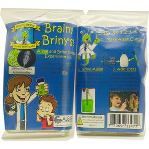Brainy Brinys Algae and Brine Shrimp Experiment Kit