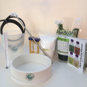 Spirulina culturing kit.  Arthropira, superfood, algae, earthrise, spirulina systems.