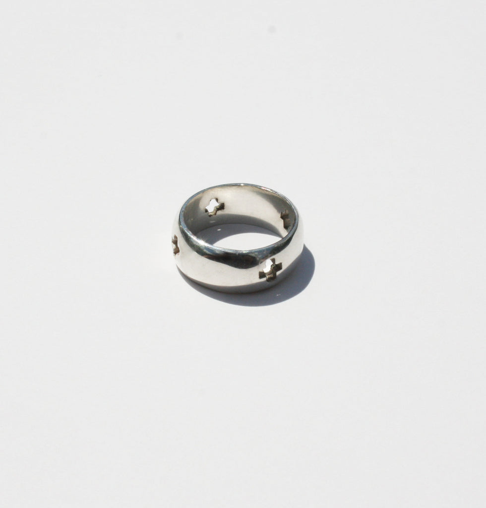 Cross unisex ring