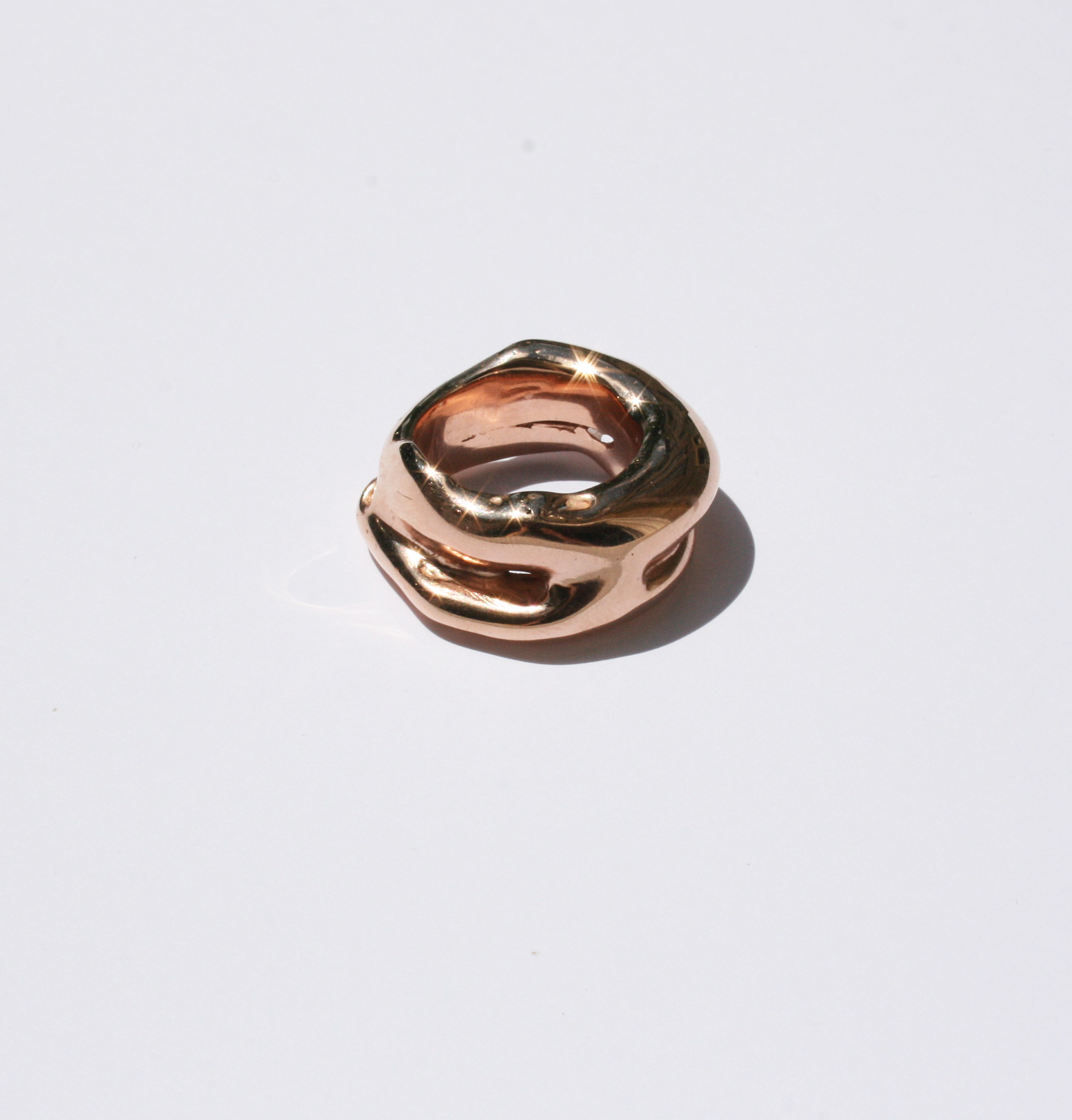 Mauna Loa rose gold ring - Filia Rex