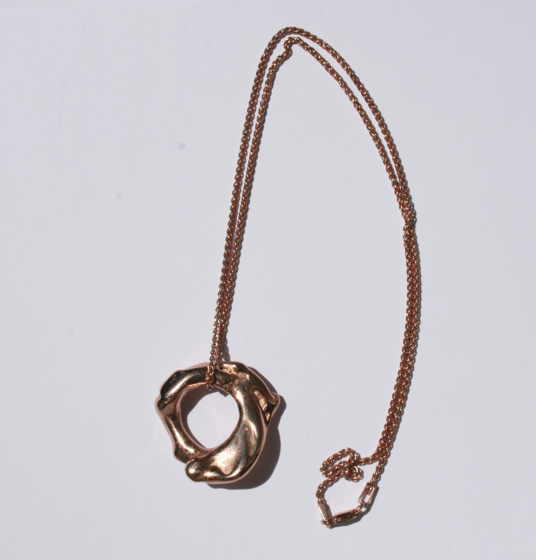 Mauna Loa rose gold necklace - Filia Rex