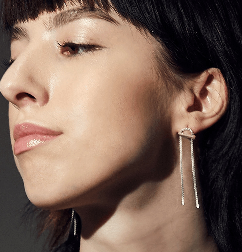 Nina drop earrings