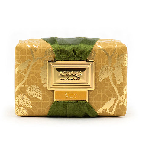 Agraria Luxury Bath Bar Soap - Golden Cassis