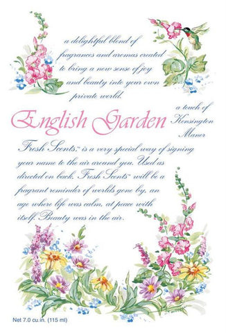 Fresh Scents Scented Sachets in English Garden (set of 3)
