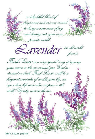 Fresh Scents Scented Sachets in Lavender (set of 3) - sagebleu