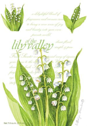 Fresh Scents Scented Sachets in Lily of Valley (set of 3) - sagebleu