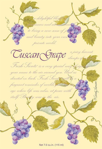Fresh Scents Scented Sachets in Tuscan Grape (set of 3)