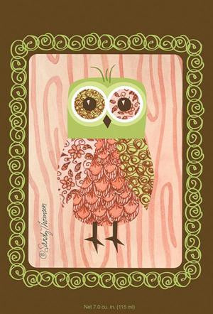 Fresh Scents Scented Sachets in Pink Owl (set of 3) - sagebleu