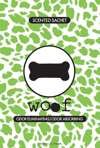 Fresh Scents Scented Sachets in Woof (set of 3)