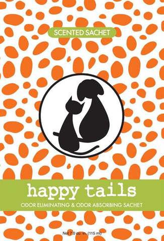 Fresh Scents Scented Sachets in Happy Tail (set of 3)