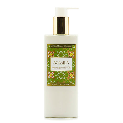 Agraria Hand & Body Lotion - Lime & Orange Blossoms