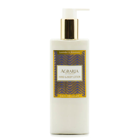 Agraria Hand & Body Lotion - Lavender & Rosemary