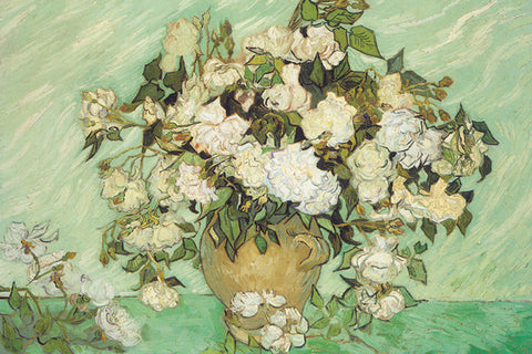 Roses - by Van Gogh - Giclee Archival Fine Art Paper Reproduction