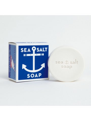 Swedish Dreams Sea Salt Soap for an invigorating and refreshing shower or lather up for a skin-healthy shave
