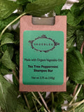 Sagebleu Orangic Tea Tree Peppermint Shampoo Bar - sagebleu - 3