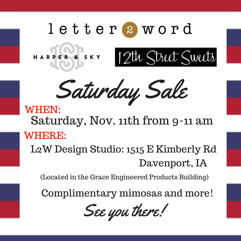 Super Saturday Sale