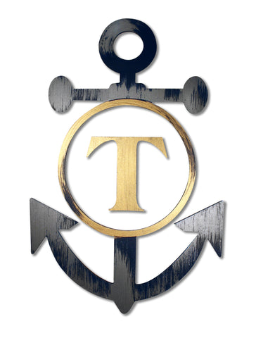 Anchor with Personalized Initial