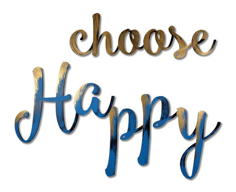 choose happy wall decoration