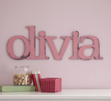 Hand Painted 3D Personalized Name